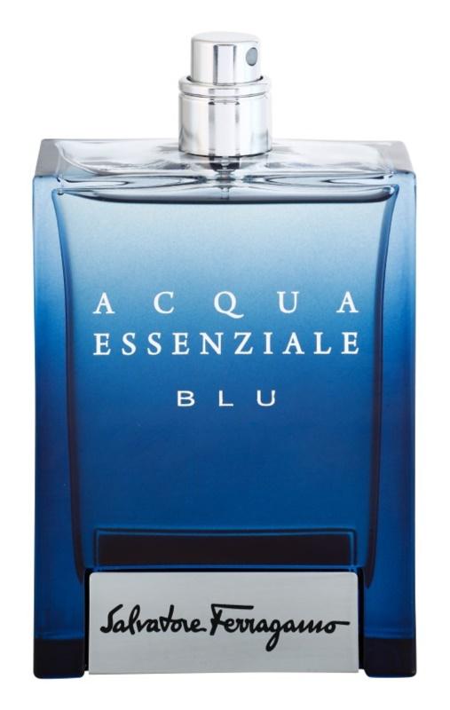 Salvatore Ferragamo Acqua Essenziale Blu toaletní voda tester pro muže 100 ml