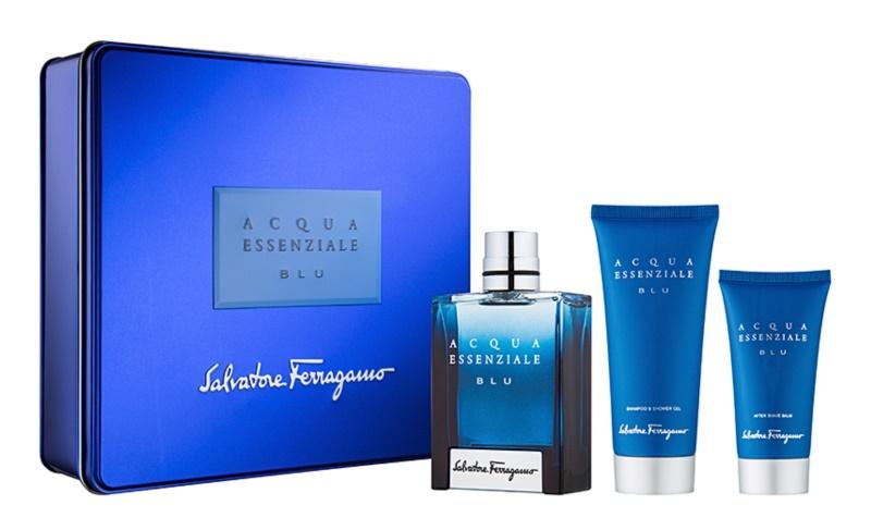 Salvatore Ferragamo Acqua Essenziale Blu darilni set V.