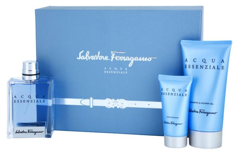 Salvatore Ferragamo Acqua Essenziale Gift Set V.