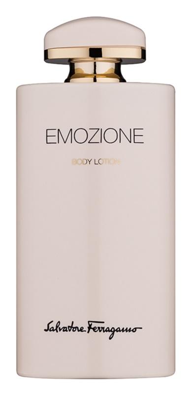 Salvatore Ferragamo Emozione leite corporal para mulheres 200 ml