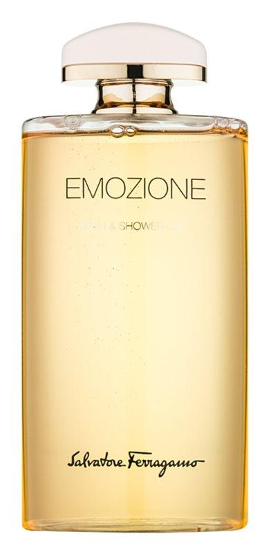Salvatore Ferragamo Emozione gel douche pour femme 200 ml