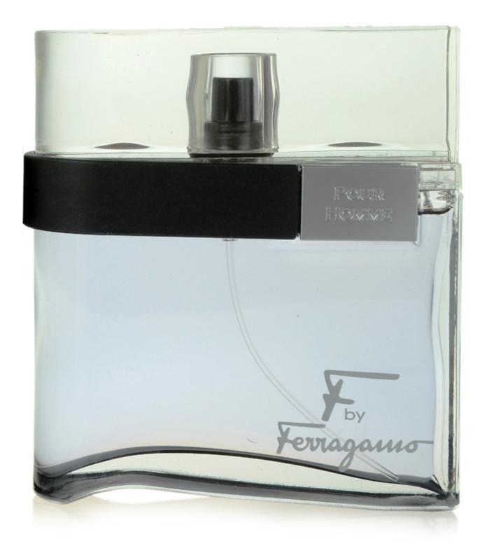 Salvatore Ferragamo F by Ferragamo Black eau de toilette pentru bărbați 100 ml