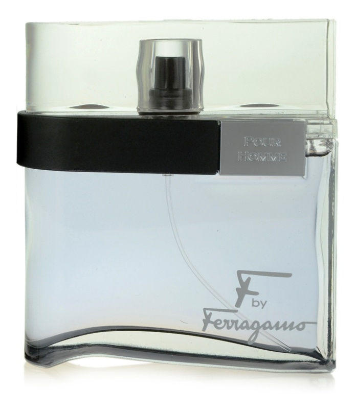 Salvatore Ferragamo F by Ferragamo Black Eau de Toilette voor Mannen 100 ml