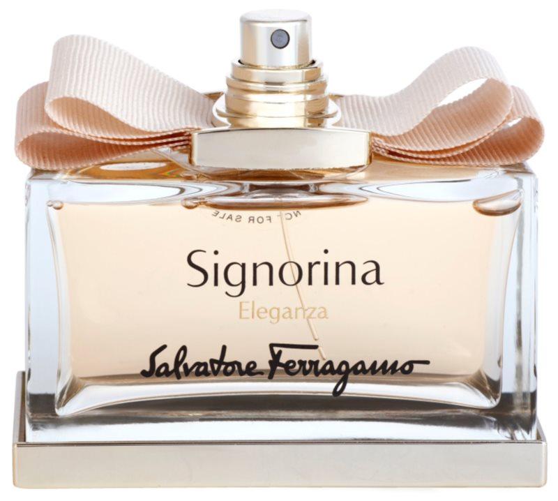 Salvatore Ferragamo Signorina Eleganza eau de parfum teszter nőknek 100 ml