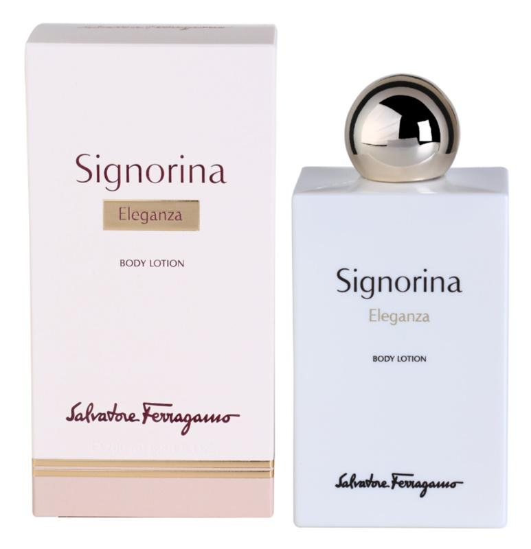 Salvatore Ferragamo Signorina Eleganza testápoló tej nőknek 200 ml