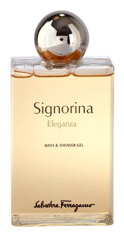 Salvatore Ferragamo Signorina Eleganza Duschgel für Damen 200 ml