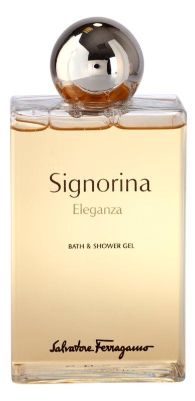 Salvatore Ferragamo Signorina Eleganza żel pod prysznic dla kobiet 200 ml