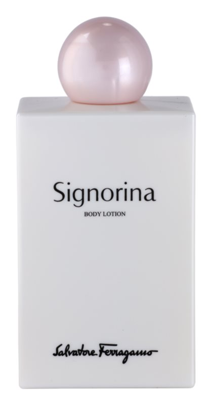 Salvatore Ferragamo Signorina Body Lotion for Women 200 ml