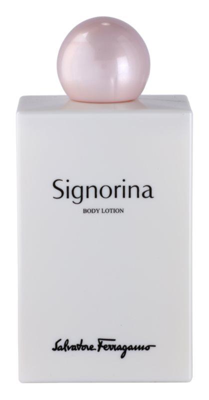 Salvatore Ferragamo Signorina testápoló tej nőknek 200 ml