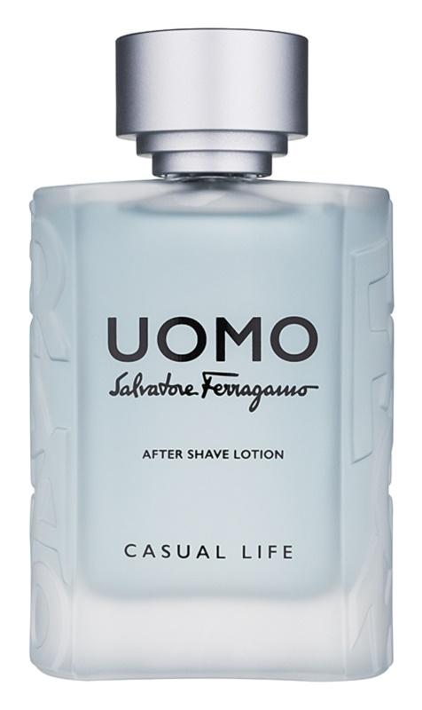 Salvatore Ferragamo Uomo Casual Life voda po holení pre mužov 100 ml