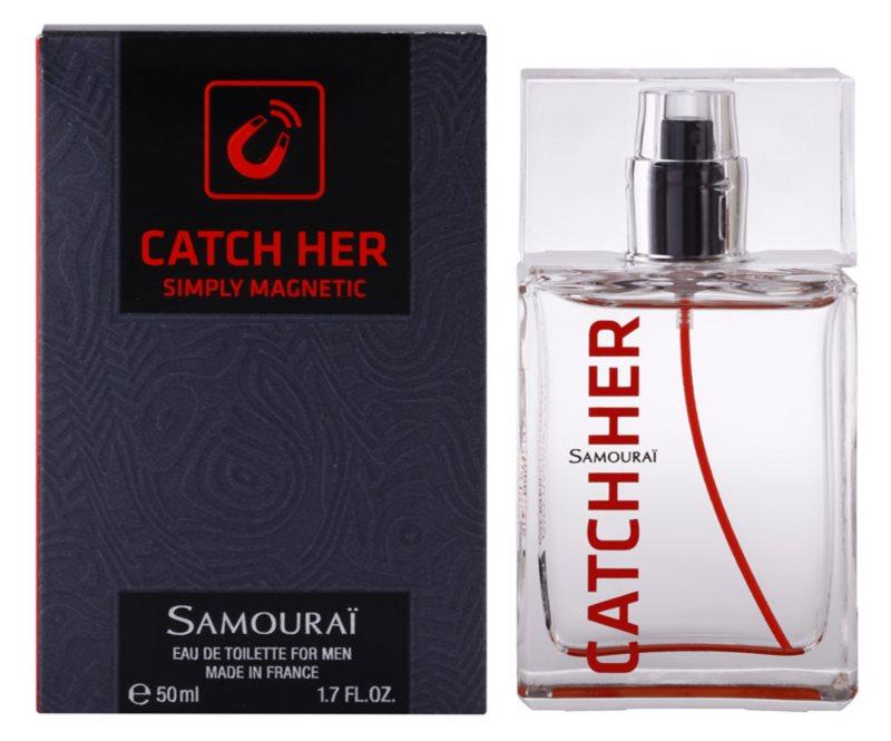 Samourai Catch Her toaletní voda pro muže 50 ml
