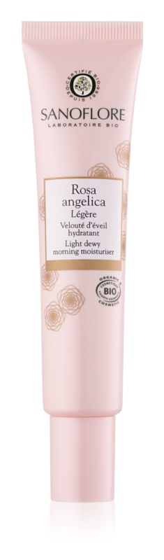 Sanoflore Rosa Angelica rozjasňující hydratační krém pro normální až smíšenou pleť