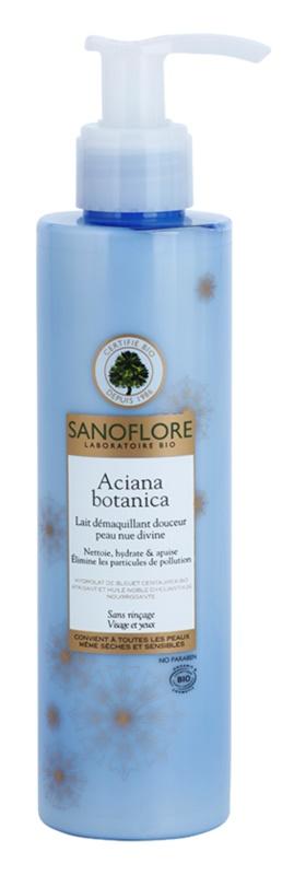 Sanoflore Aciana Botanica Reinigungsmilch mit feuchtigkeitsspendender Wirkung