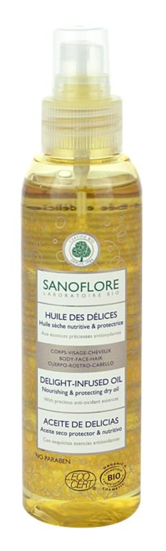 Sanoflore Corps aceite seco  para cara, cuerpo y cabello