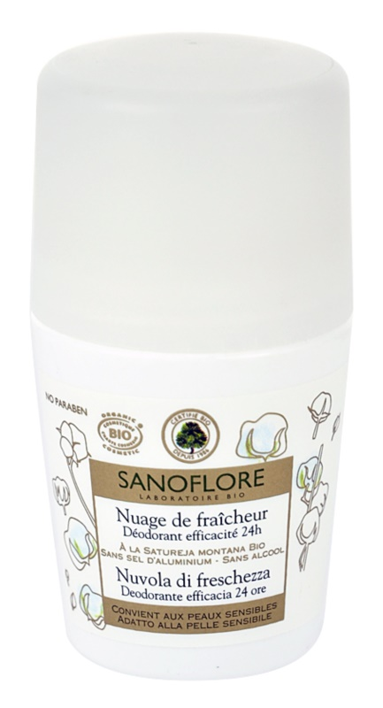 Sanoflore Déodorant Roll-On Deodorant 24 h