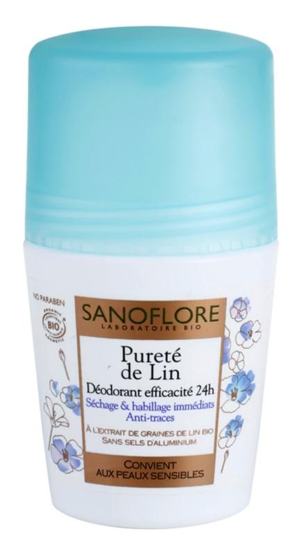 Sanoflore Déodorant dezodorant w kulce bez zawartości aluminium 24 godz.