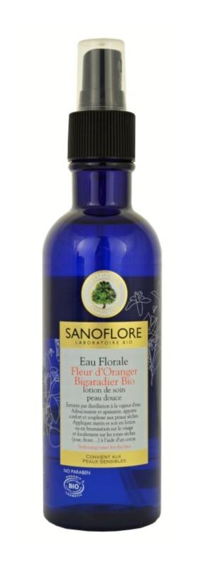Sanoflore Eaux Florales pomirjajoča cvetlična voda  za suho kožo