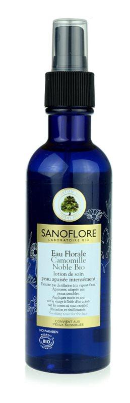 Sanoflore Eaux Florales pomirjajoča cvetlična voda  za občutljivo kožo