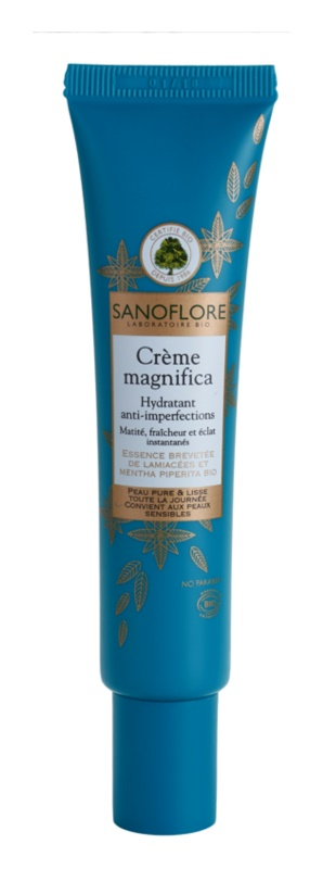 Sanoflore Magnifica creme hidratante para pele com imperfeições
