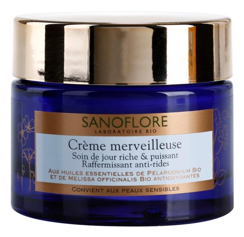 Sanoflore Merveilleuse crema reafirmante y nutritiva antiarrugas