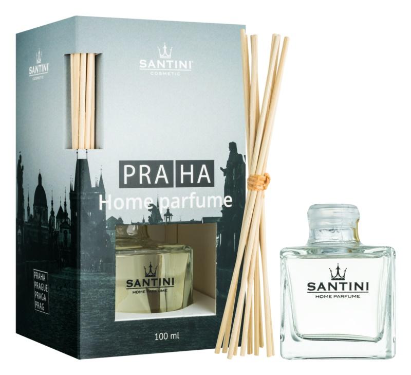 SANTINI Cosmetic Praha diffuseur d'huiles essentielles avec recharge 100 ml