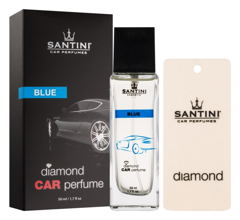 SANTINI Cosmetic Diamond Blue Car Air Freshener 50 ml