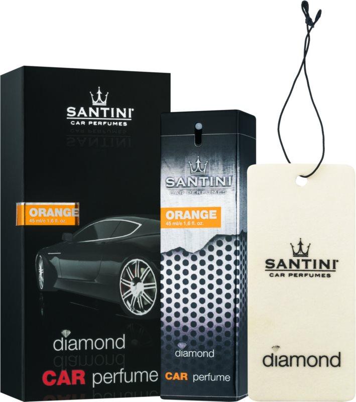 SANTINI Cosmetic Diamond Orange illat autóba 50 ml