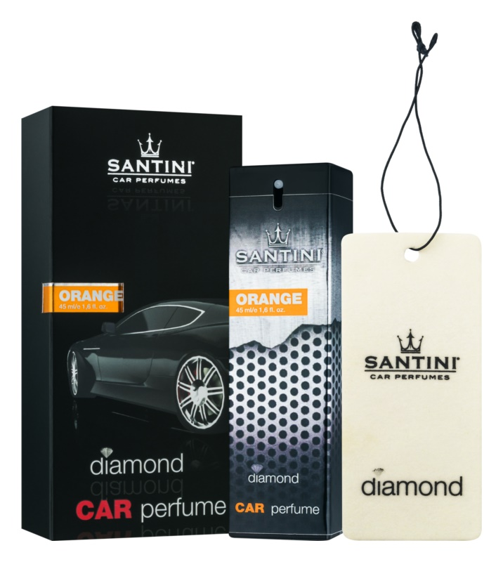 SANTINI Cosmetic Diamond Orange vůně do auta 50 ml