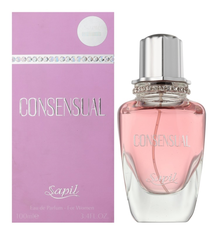 Sapil Consensual Eau de Parfum for Women 100 ml