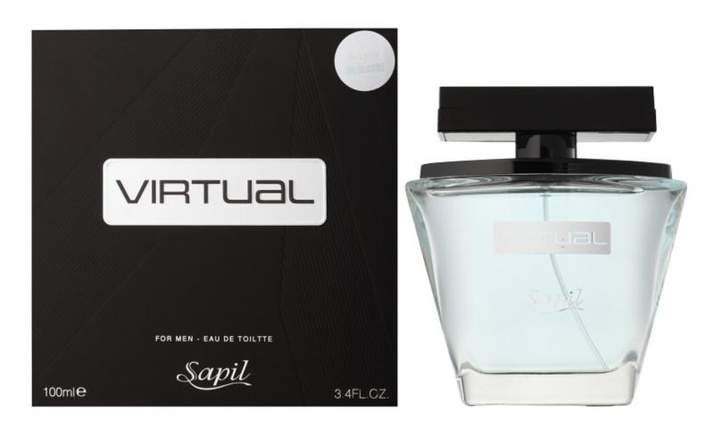 Sapil Virtual Eau de Toilette voor Mannen 100 ml