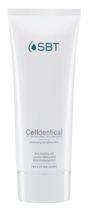 SBT Celldentical čistiace a odličovacie mlieko bez parfumácie