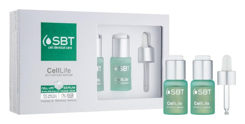SBT CellLife sérum de activación reafirmante y calmante de la piel para uso diario
