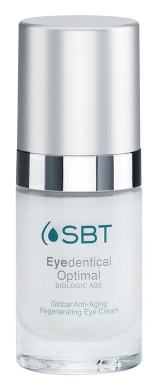 SBT Optimal Eyedentical crema regeneradora para contorno de ojos anti-edad