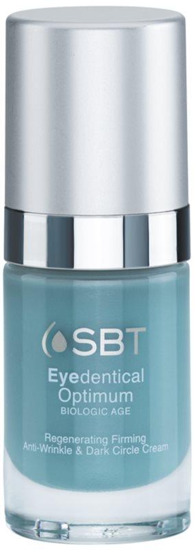 SBT Optimum Eyedentical creme de olhos  para corrigir circulos à volta dos olhos e rugas