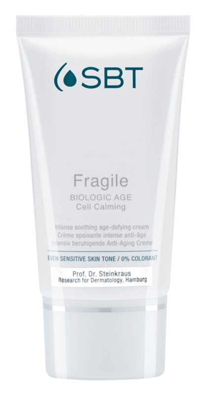 SBT Fragile crema de día calmante  para pieles irritadas y sensibles