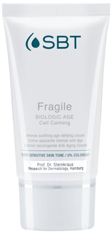 SBT Fragile upokojujúci denný krém pre citlivú a podráždenú pleť