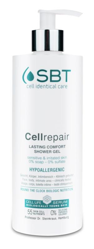 SBT Cellrepair kojący żel pod prysznic do skóry wrażliwej i podrażnionej