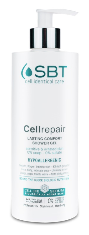 SBT Cellrepair Soothing Shower Gel For Sensitive And Irritated Skin