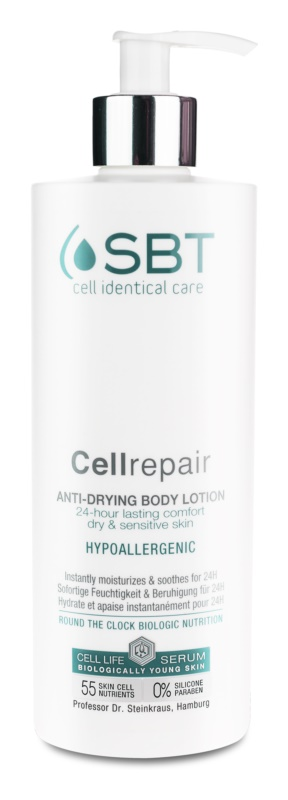 SBT Cellrepair hypoallergenic body lotion For Dry and Sensitive Skin