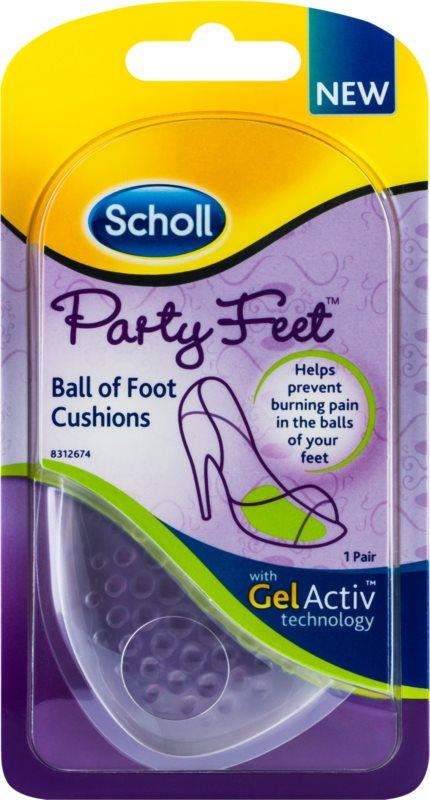 Scholl Party Feet Ultra Slim gelové polštářky pod bříško nohy