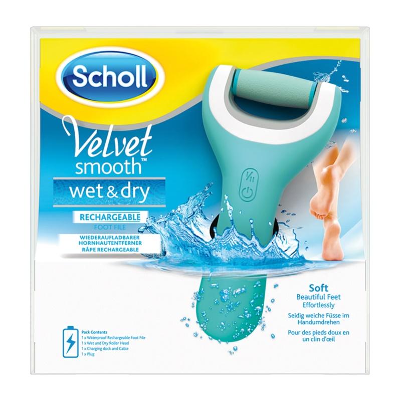 Scholl Velvet Smooth Electronic Foot File Waterproof