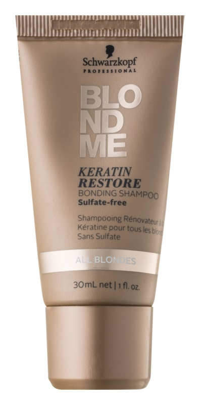 Schwarzkopf Professional Blondme keratínový regeneračný šampón pre blond vlasy