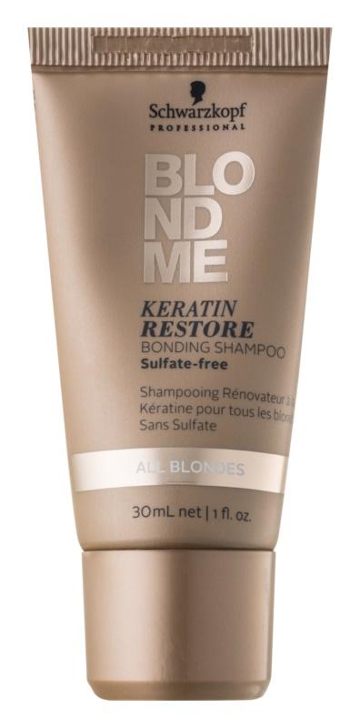Schwarzkopf Professional Blondme keratinski regeneracijski šampon za blond lase