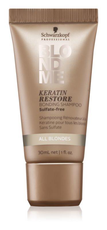 Schwarzkopf Professional Blondme regenerierendes Keratin Shampoo für blonde Haare