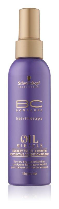 Schwarzkopf Professional BC Bonacure Oil Miracle Barbary Fig Oil vlažilno mleko za lase za suhe in krhke lase