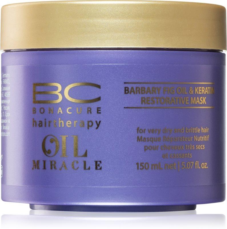 Schwarzkopf Professional BC Bonacure Oil Miracle Barbary Fig Oil maska za lase za zelo suhe in poškodovane lase