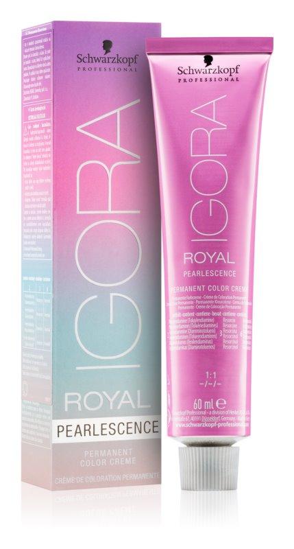 Schwarzkopf Professional IGORA Royal Pearlescence перманентна крем-фарба для волосся