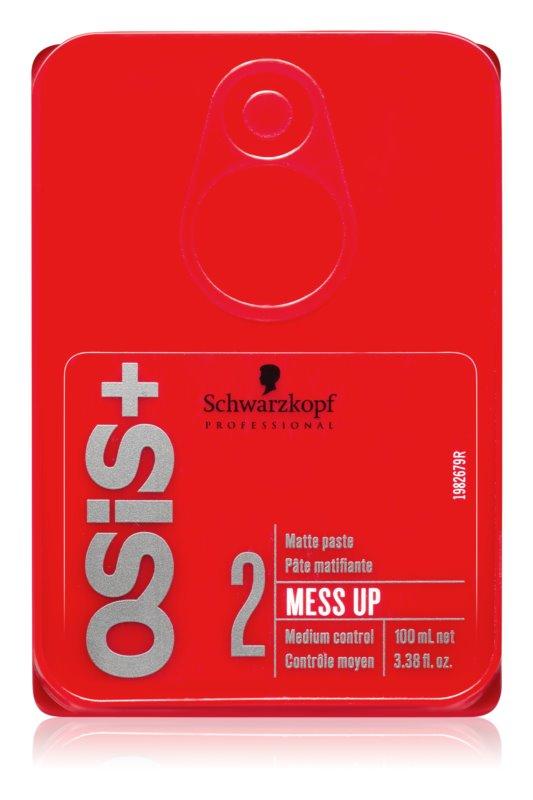 Schwarzkopf Professional Osis+ Mess Up mattító paszta közepes tartás