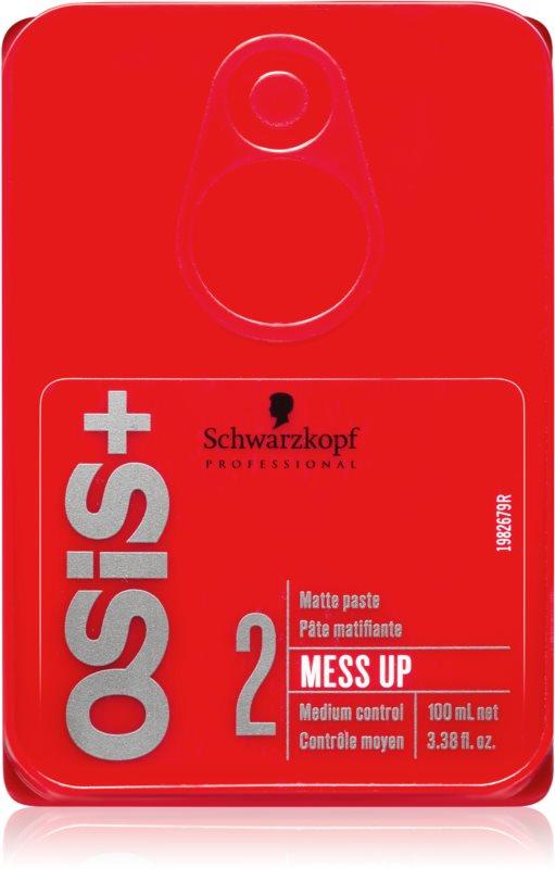 Schwarzkopf Professional Osis+ Mess Up pâte matifiante fixation moyenne