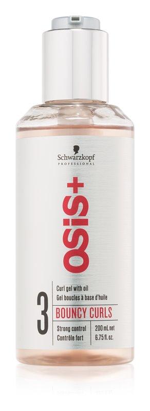 Schwarzkopf Professional Osis+ Bouncy Curls gel com óleo para definição de caracóis